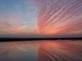 94. Jacques CAMPMAS - Coucher de soleil sur les marais